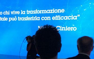 """""""Solo chi vive la trasformazione digitale può trasferirla con efficacia"""""""