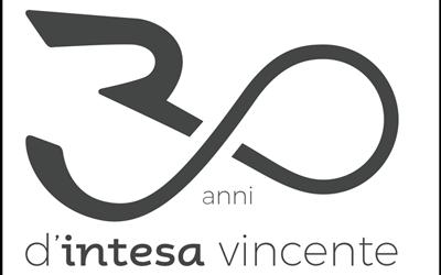 """""""30 anni di Intesa vincente"""": ecco il logo celebrativo"""