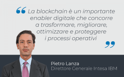 Blockchain: leadership, progetti e opportunità di business